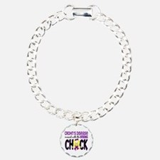 Crohn's Messed With Wrong Chick Bracelet