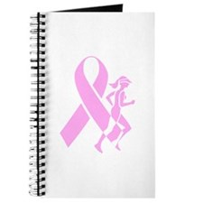 Pink Ribbon and Runner Journal