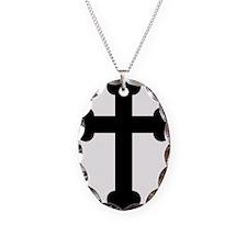 Budded Cross Necklace