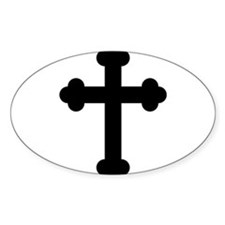 Budded Cross Decal