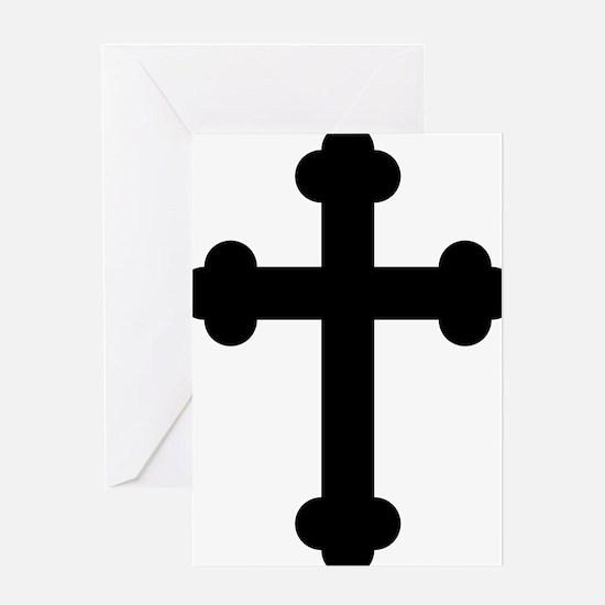 Budded Cross Greeting Cards