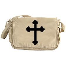 Budded Cross Messenger Bag
