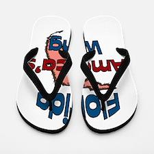 Florida America's Wang Flip Flops