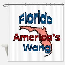 Florida America's Wang Shower Curtain