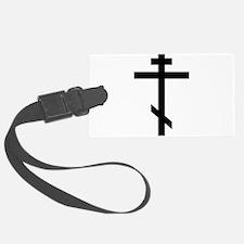 Orthodox Cross Luggage Tag
