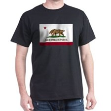 Smilodon California Flag T-Shirt