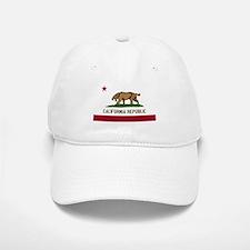 Smilodon California Flag Baseball Baseball Cap