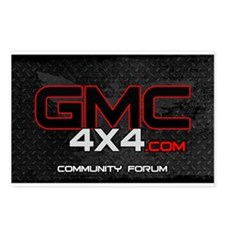 GMC4x4 Postcards (Package of 8)
