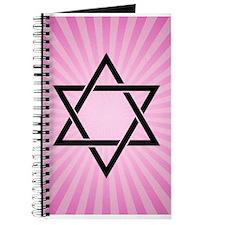 pink star of david Journal