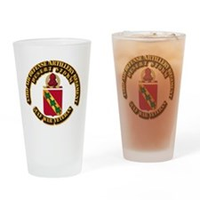 Army - DS - 43RD ADA RGT Drinking Glass