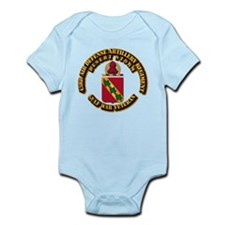 Army - DS - 43RD ADA RGT Infant Bodysuit