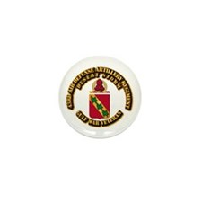 Army - DS - 43RD ADA RGT Mini Button