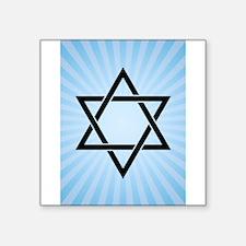 blue star of david Sticker