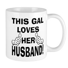 This Gal loves her Husband Mug