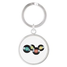 LP Records Keychains