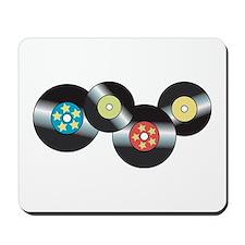 LP Records Mousepad