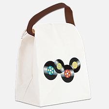 LP Records Canvas Lunch Bag