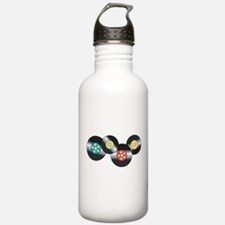 LP Records Water Bottle