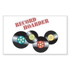 Record Hoarder Decal