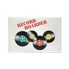 Record Hoarder Magnets