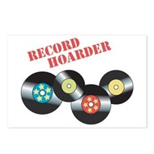 Record Hoarder Postcards (Package of 8)