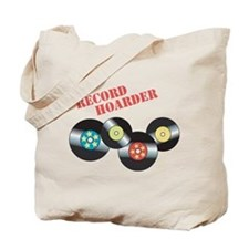 Record Hoarder Tote Bag