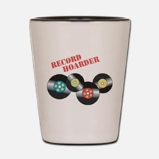Record Hoarder Shot Glass