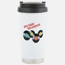 Record Hoarder Travel Mug