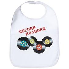 Record Hoarder Bib