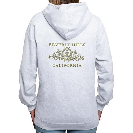 Beverly Hills CA Women's Zip Hoodie