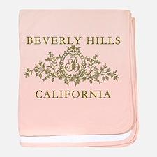 Beverly Hills CA baby blanket