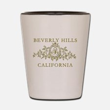 Beverly Hills CA Shot Glass