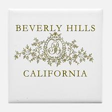 Beverly Hills CA Tile Coaster