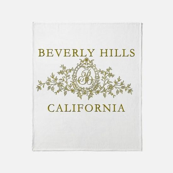 Beverly Hills CA Throw Blanket