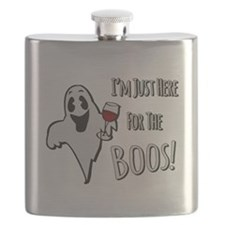 Im Here for the Boos Flask