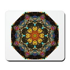 Thin Section Kaleidoscope Mousepad