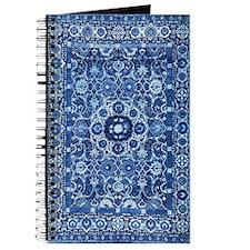 Oriental Rug Blue Journal