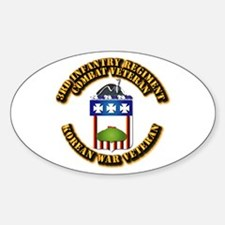 Army - 3rd Infantry Regiment w Korea Decal
