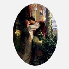 Romeo and Juliet Ornament (Oval)