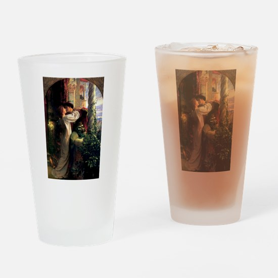 Romeo and Juliet Drinking Glass