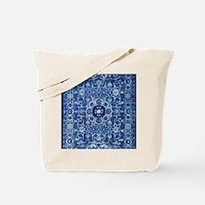 Oriental Rug Blue Tote Bag