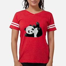Cute Panda Womens Football Shirt