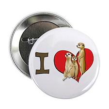I heart meerkats Button