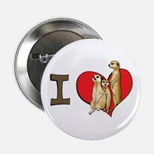 I heart meerkats Button