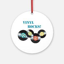 Vinyl Rocks Ornament (Round)
