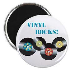 Vinyl Rocks Magnets