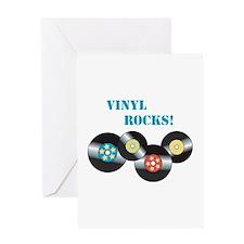 Vinyl Rocks Greeting Cards