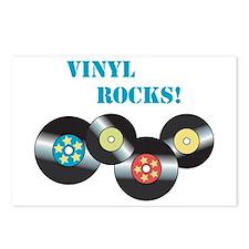 Vinyl Rocks Postcards (Package of 8)