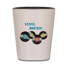 Vinyl Rocks Shot Glass