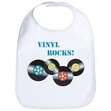 Vinyl Rocks Bib